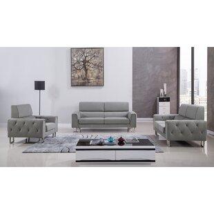 Modern & Contemporary 3 Piece Living Room Set   AllModern