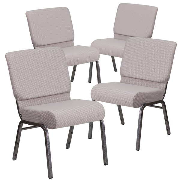 MacArthur Silver Vein Guest Chair (Set of 4) by Ebern Designs