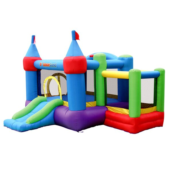 Inflatable Dream Castle Bounce House with Ball Pit by Bounceland