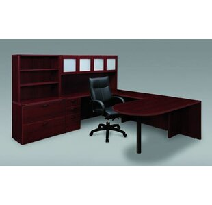 Fairplex 4-Piece L-Shape Desk Office Suite