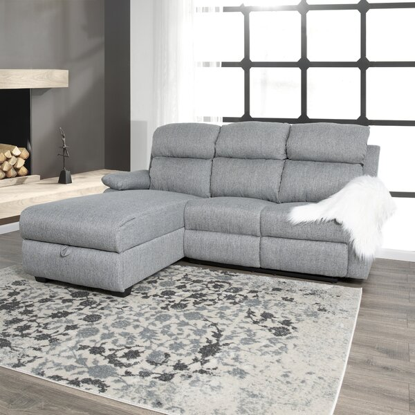Forest Park Left Hand Facing Reclining Sectional By Red Barrel Studio