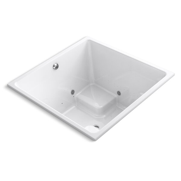 Underscore 48 x 48 Air Bathtub by Kohler