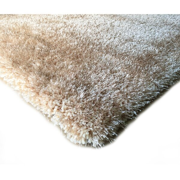 Hand-Tufted Beige Area Rug by Rug Factory Plus