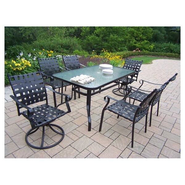 Web 7 Piece Dining Set by Oakland Living