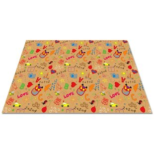 Looking for Reidsville Playtime Doodle Brown/Green/Orange Area Rug By Zoomie Kids