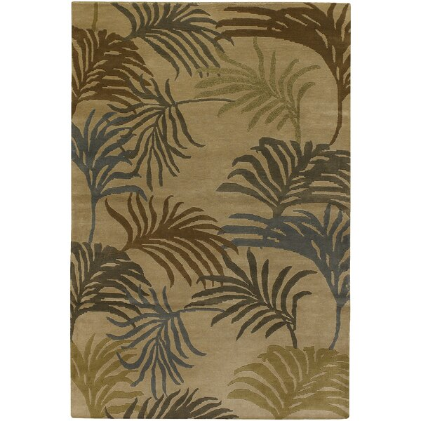 Bach Brown Area Rug by Bayou Breeze