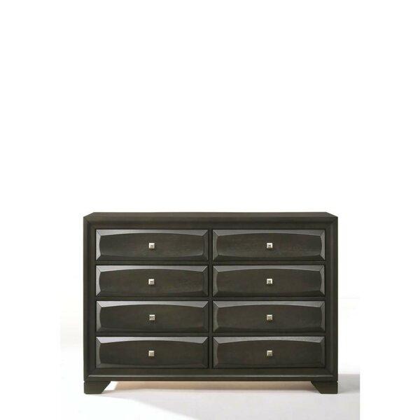 Mosser 8 Drawer Double Dresser by Orren Ellis
