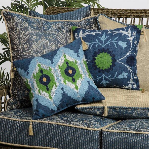 Royal Zanzibar Reversible Outdoor Throw Pillow (Set of 2) by Bombay Outdoors