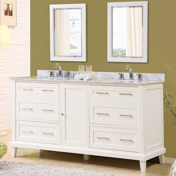 Fairlee 70 Double Bathroom Vanity Set with Mirrors by Latitude Run