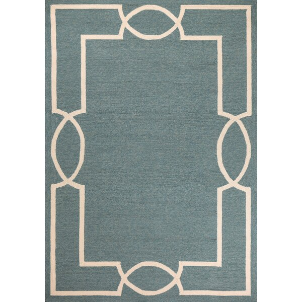 Hamptons Madison Hand-Hooked Spa Indoor/Outdoor Area Rug by Libby Langdon