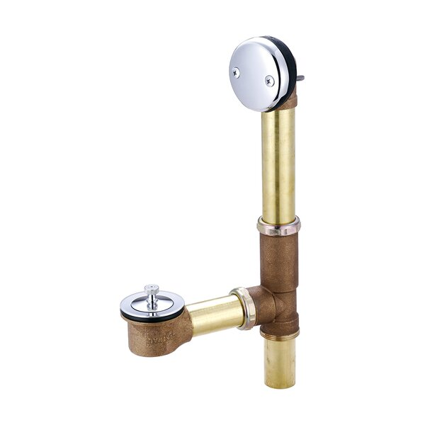 Centralift Lift and Turn Tub Drain by Central Brass