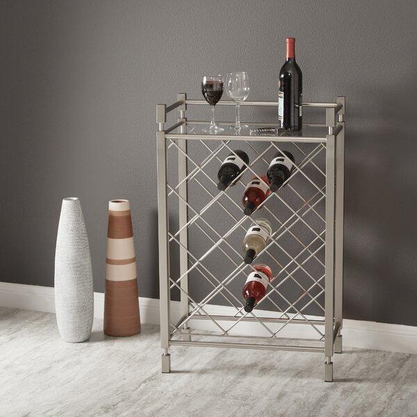 Cotgrave 17 Bottle Floor Wine Bottle Rack by Mercer41 Mercer41