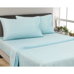 Oreana Dots 300 Thread Count 3 Piece Satin Sheet Set By Alcott Hill