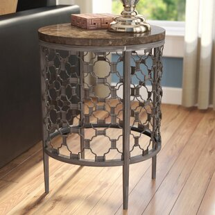 Top Reviews Lunde End Table ByRed Barrel Studio
