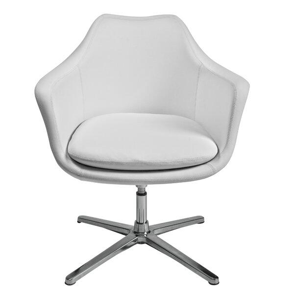 Long Ashton Swivel Lounge Chair by Orren Ellis Orren Ellis