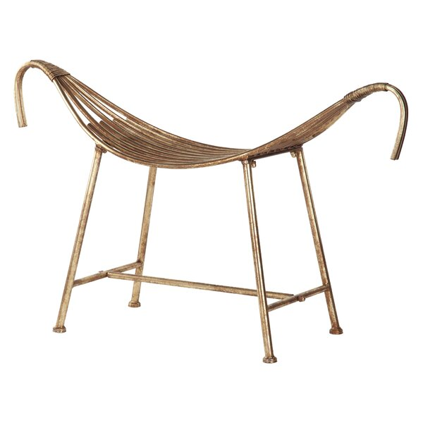 God of the Nile Egyptian Style Metal Bench by Design Toscano