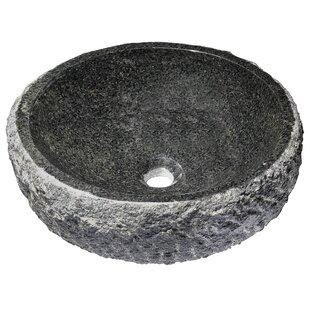 Reviews Dragons Stone Circular Vessel Bathroom Sink By ANZZI