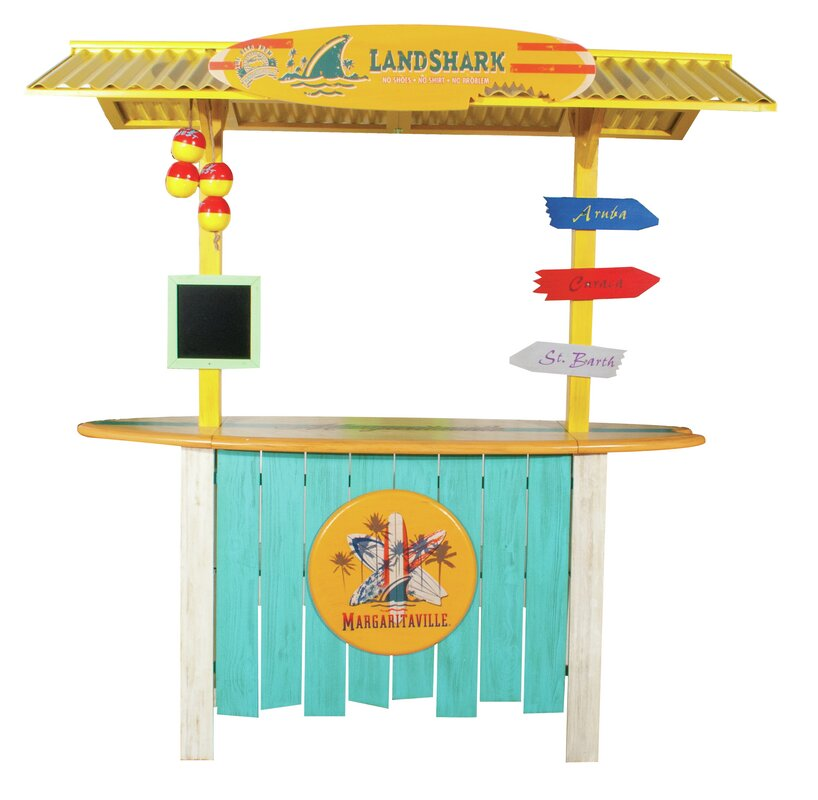 Margaritaville Landshark Tiki Bar Amp Reviews Wayfair