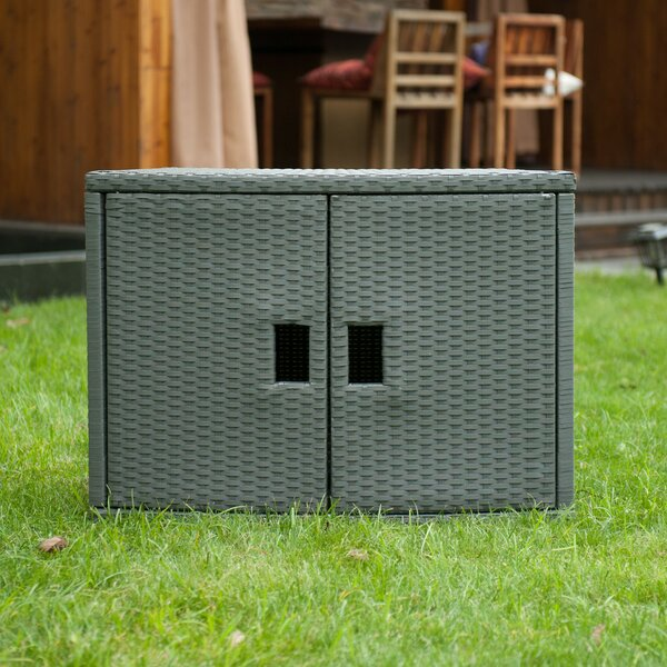 Spa Wicker Deck Box  by MSPA USA MSPA USA
