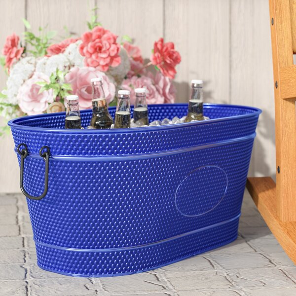 Sisk Pebbled Beverage Tub by Darby Home Co
