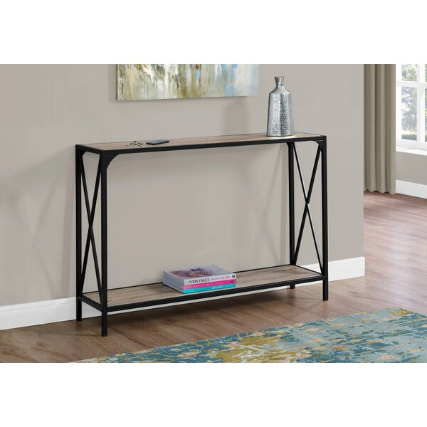 Ebern Designs Black Console Tables