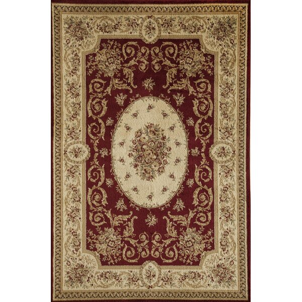 Berghoff Red Area Rug by Threadbind