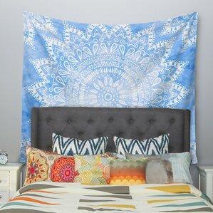 Boho Flower Mandala By Nika Martinez Wall Tapestry
