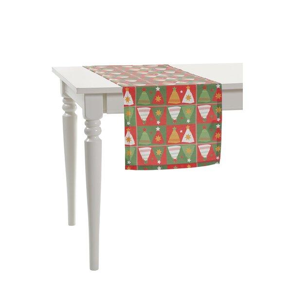 Mirror Christmas Tree Table Runner by Debage Inc.