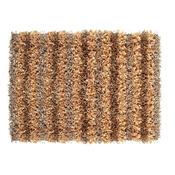 SeaBreeze Hand-Woven Champagne Novelty Rug by Ess Ess Exports