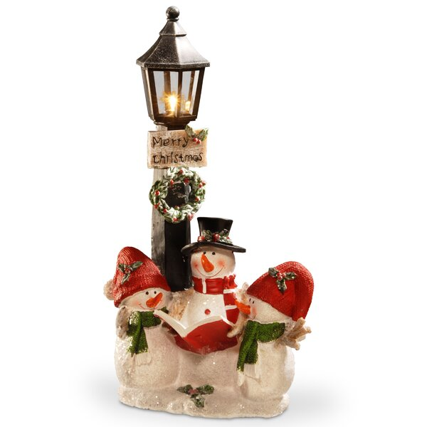 13 Lighted Christmas Décor Figurine by Alcott Hill