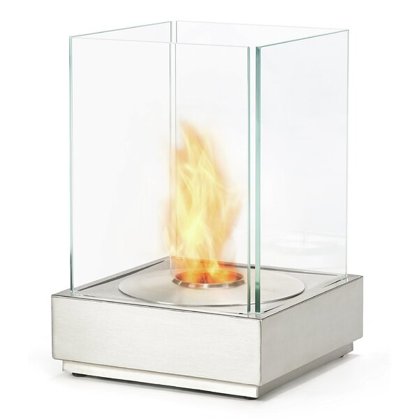 T Outdoor Stainless Steel Bio-Ethanol Fuel Fire Pit by EcoSmart Fire