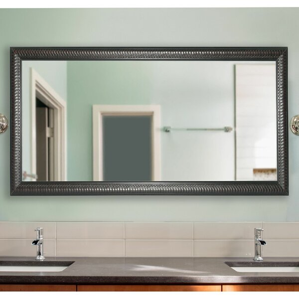 Kinard Royal Curve Bathroom/Vanity Mirror by Charlton Home