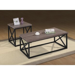 McManus 3 Piece Coffee Table Set By17 Stories