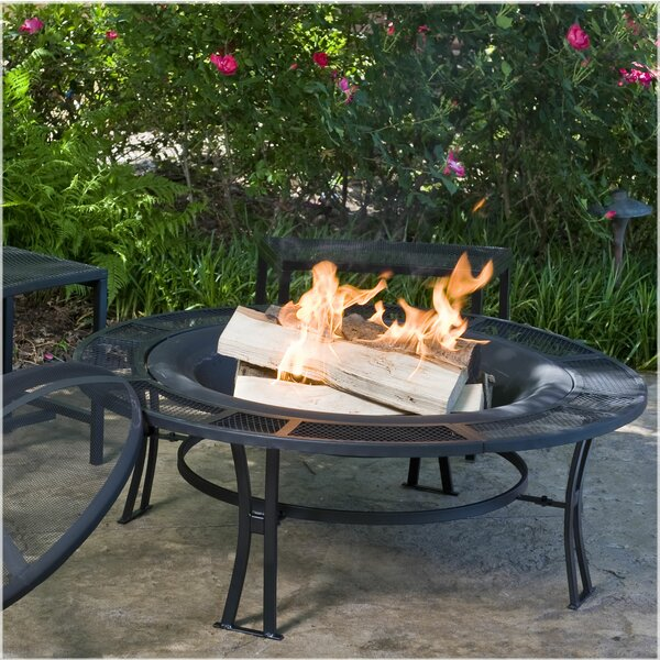 Steel Wood Burning Fire Pit by CobraCo