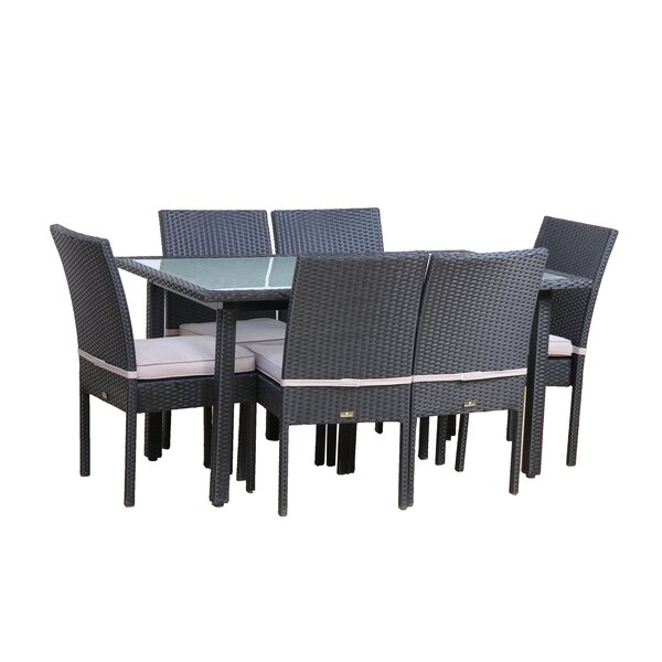 Millsap 7 Piece Outdoor Dining Set With Cushions By Brayden Studio