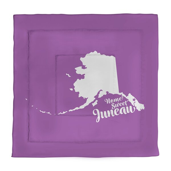 Juneau Alaska Single Reversible Comforter