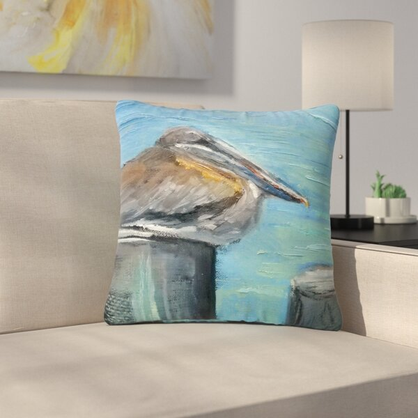 Carol Schiff Hunke Down Outdoor Throw Pillow by East Urban Home