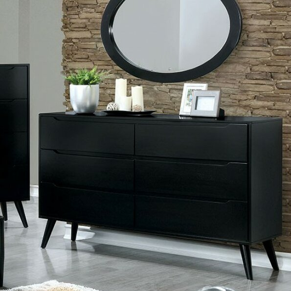 Isabela 6 Drawer Double Dresser by Corrigan Studio