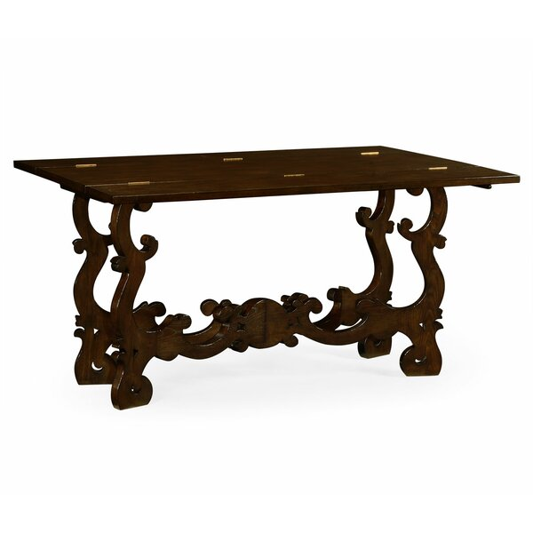 Jonathan Charles Fine Furniture Brown Console Tables