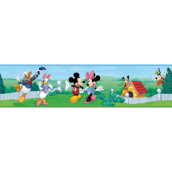 Mickey and Friends Border Wallpaper by Room Mates