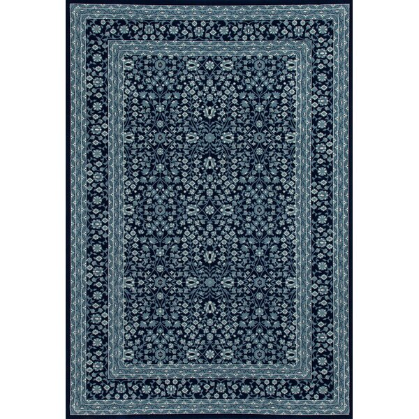 Lang Navy Area Rug by Astoria Grand