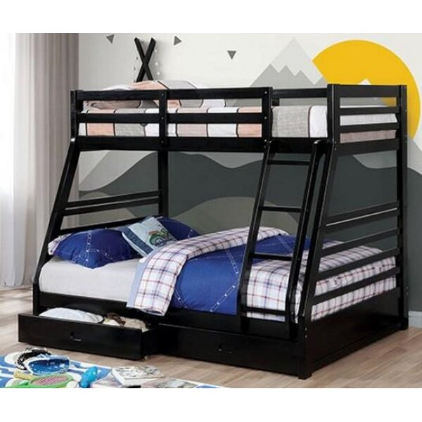 Wycombe California Iii Twin Bunk Bed with Drawers by Harriet Bee