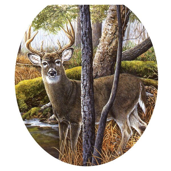 Deer Creek Toilet Seat Decal by Toilet Tattoos