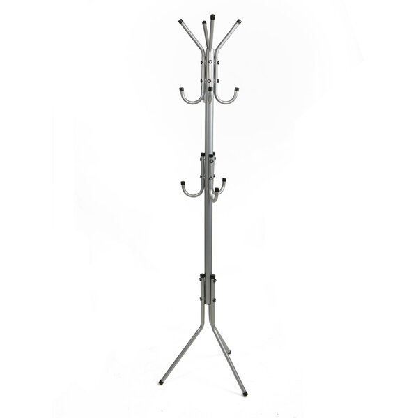 11 Hook Metal Coat Rack by Mind Reader