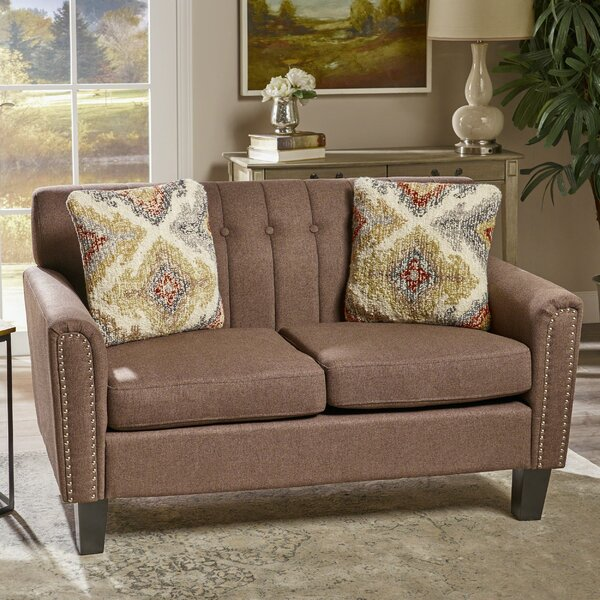 Online Order Mullaghboy Traditional Loveseat by Winston Porter by Winston Porter