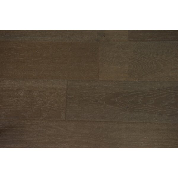Venice 6-1/2 Engineered Oak Hardwood Flooring in Iron by Branton Flooring Collection