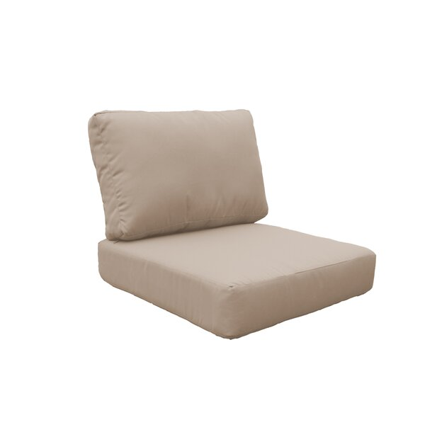 Miami 8 Piece Outdoor Lounge Chair Cushion Set By TK Classics