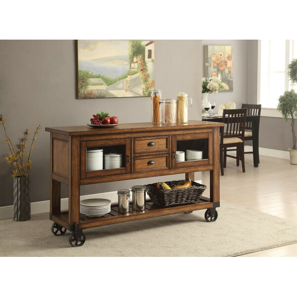 Rybicki Kitchen Cart by Millwood Pines