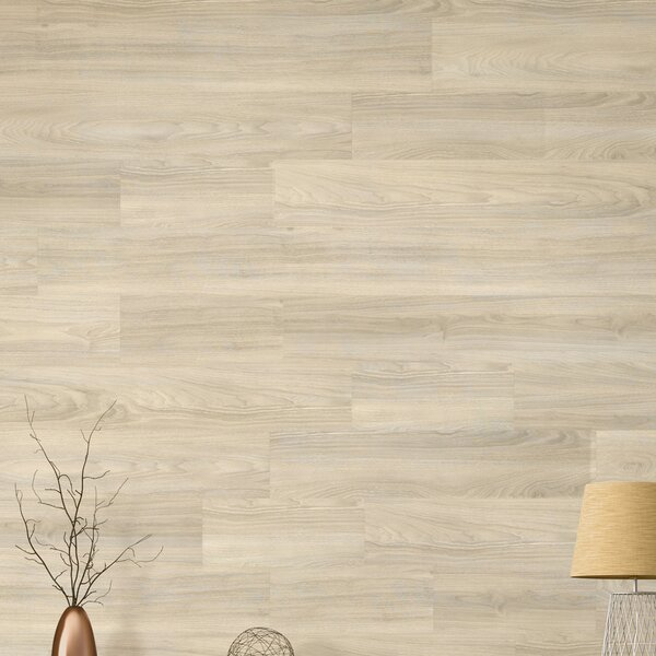 Light Solidity™ 5 Vinyl Wall Paneling in Beige Elm by Halstead International