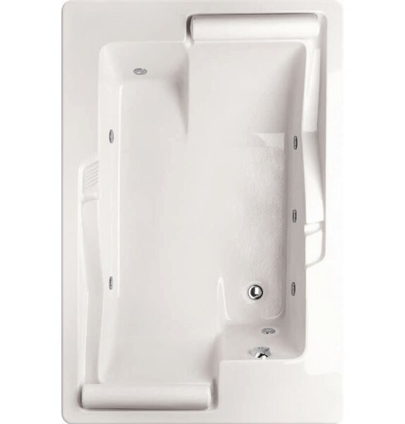 Designer Ashley 72 x 48 Whirlpool Bathtub by Hydro Systems